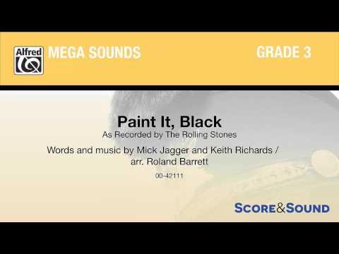Paint It, Black, arr. Roland Barrett – Score & Sound