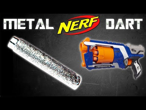 GALLIUM METAL NERF DART!!