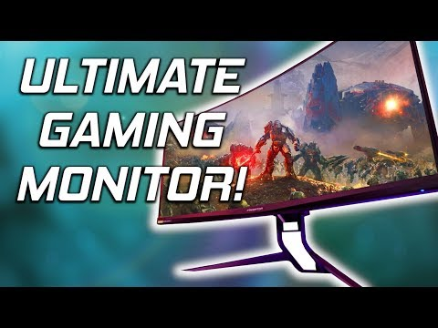 Acer Predator X35 Review 😮 The First HDR Gaming Monitor I'd