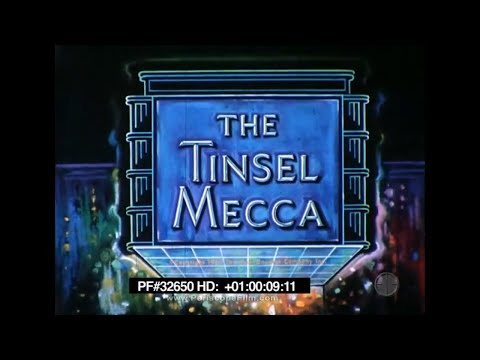 America! The Tinsel Mecca - Hollywood, Los Angeles, Chinese Theatre 32650 HD