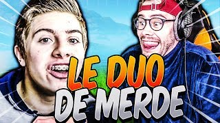 LE DUO DE MERDE (ft. Michou) SUR FORTNITE BATTLE ROYALE !!!