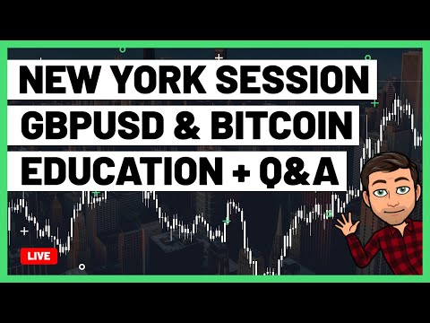 🔴 New York Session GBPUSD | Forex Trading Live!