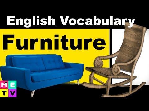 English Vocabulary |Furniture