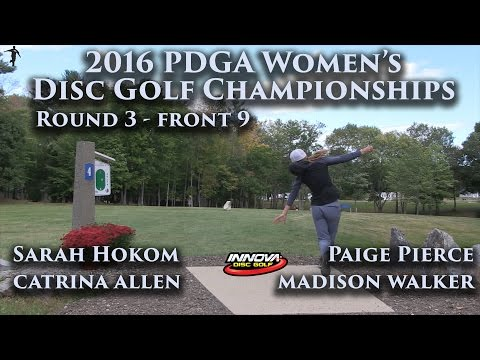 2016 US Women's Disc Golf Champs - Sarah Hokom, Paige Pierce, Cat Allen, Madison Walker R3F9