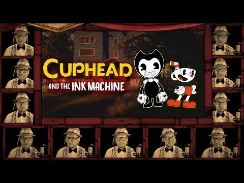 "CUPHEAD SONG ""Brothers in Arms"" A Cappella Cover / LYRIC Video (Bendy and the Ink Machine)"