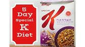 Különleges K-diet® Kellogg s Special K® fogyókúra és táplálkozás