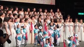 官立小學音樂會 學生跳舞+家長合唱小城故事+我的祖國