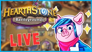 🔴Hearthstone Battlegrounds But I'm Chillin With My Homies At Night...