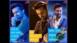 Atif Aslam 💖 || New Song 2018 || Tera Huaa 💞 || Full Screen WhatsApp Status