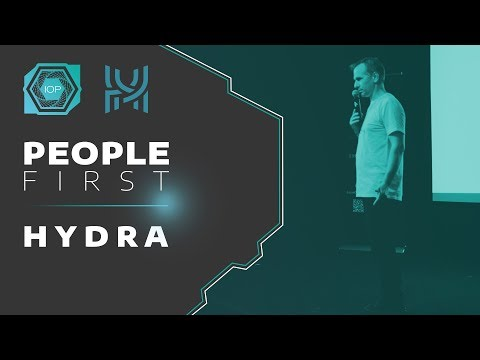HYDRA, next generation blockchain - People First Conference 2018 | Internet of People