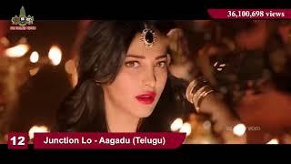 Top 20 Most Viewed South Indian Songs  Telugu, Tamil , Kannada and Malayalam screenshot 2