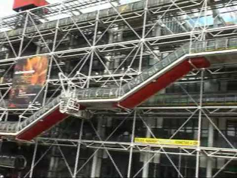 PARIGI/Paris - Centre Pompidou (Beaubourg)