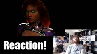 Injustice 2 Starfire, Red Hood, Sub Zero Reveal Trailer + Reaction