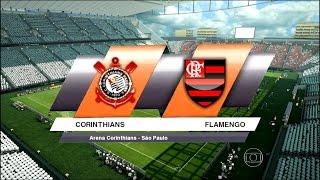 [BMPES 11.2] PES 2013 - Corinthians x Flamengo - Cleber Machado (Globo HD)