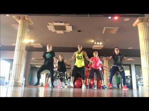 colosseum  Salsation® Class Swalla Jason Deluro choreography by Paola Szulborska