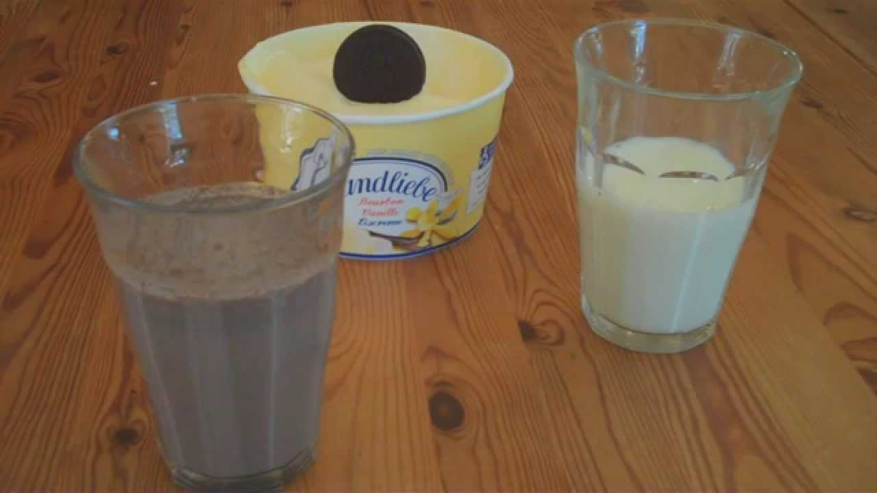 oreo milkshake rezept zum selber machen youtube. Black Bedroom Furniture Sets. Home Design Ideas