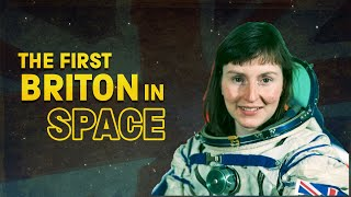 The first Briton in space
