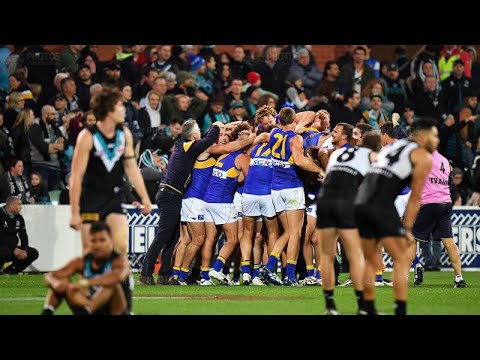 PORT ADELAIDE POWER V WEST COAST EAGLES - EXTRA TIME- AFL FINALS 2017