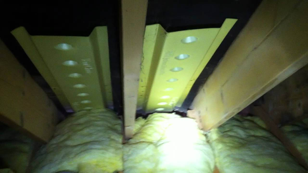 What Are Attic Ventilation Baffles Mov Youtube