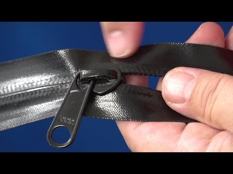 YKK® AquaGuard® Water Repellent Zipper Demo