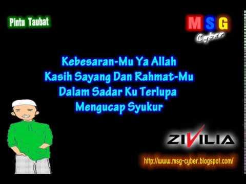 Zivilia - Pintu Taubat (Religi 2011) + Lirik Lagu