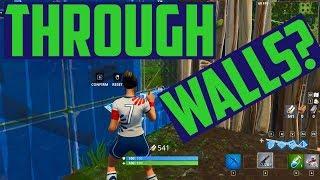 Glitch Fortnite - Jump through Walls (Exploit?)
