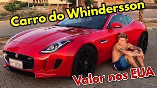 Quanto Custa o CARRO DO WHINDERSSON Nos EUA - Jaguar F-Type
