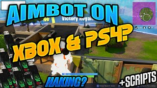 Fortnite: Battle Royale HACKS ON CONSOLE! | AIMBOT! XBOX, PS4, | FORTNITE MODS 2018