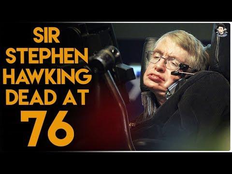 स्टेफेन हाकिंग नहीं रहे // Physicist Stephen Hawking Dead at 76 // A Brief History of Time Travel