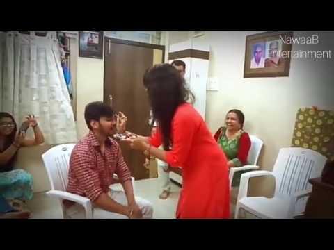 New Style of Raksha Bandhan,Bhaiya mere rakhi ke Bandhan ko nibhana Gujrati song , DIGITAL INDIA
