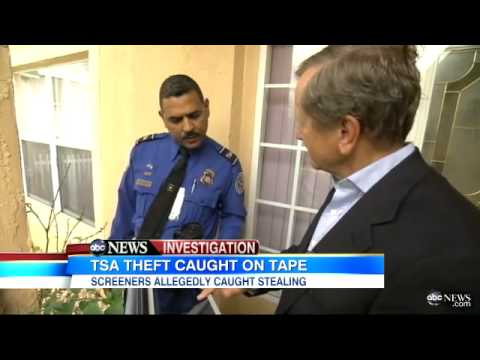 Florida TSA worker caught with stolen ipad