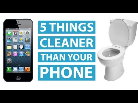 Your Phone Is Dirtier Than These 5 Objects | Mashable