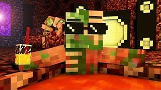 Жизнь Свино Зомби в Minecraft Машинима майнкрафт
