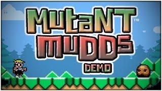 Mutant Mudds Demo (Nintendo 3DS Playthrough)