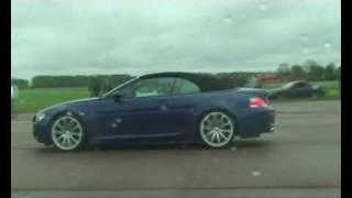m6board.com: Mercedes SL55 AMG vs Hartge M6 Cabrio Exteriour