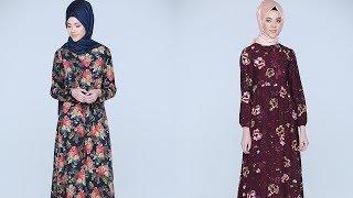Tozlu Giyim 2017 Tesettür Elbise Modelleri 1/2
