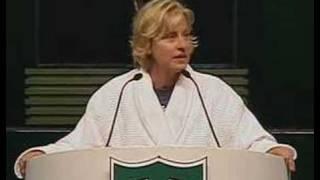Ellen DeGeneres at Tulane