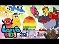 SURPRISE EGGS | COMPILATION | EGG SONG | SUPER BEST SONGS FOR KIDS | LARVA KIDS