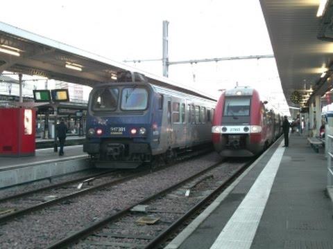 FR#73 - Circulations variées un vendredi soir en gare de Toulouse-Matabiau - 18/03/16