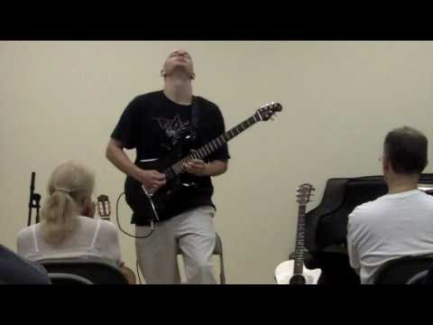 "Takelessons.com instructor Jim Perona performs Steve Vai's ""For the Love of God"""