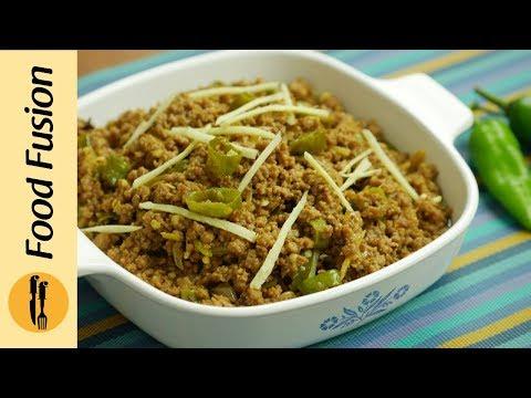 Hari Mirch keema Recipe By Food Fusion