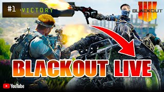 BLACKOUT LIVE (14,500+ Kills - 10+ K/D - 400+ Wins) COD Black Ops 4