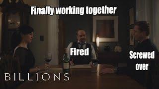 Billions | Axe and Chuck Plotting | Ending | Season Finale S3E12