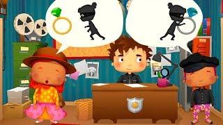 Мультики про ПОЛИЦИЮ и МАШИНКИ Полицейский участок Мультфильмы для детей Игры Видео для мальчиков