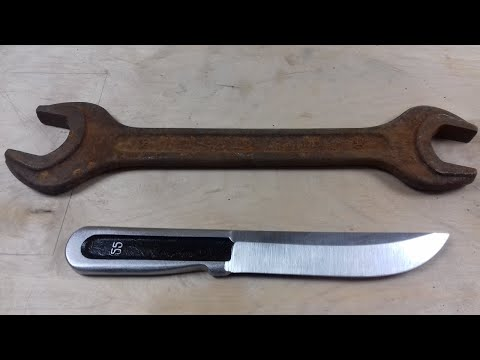 Нож из ключа своими руками
