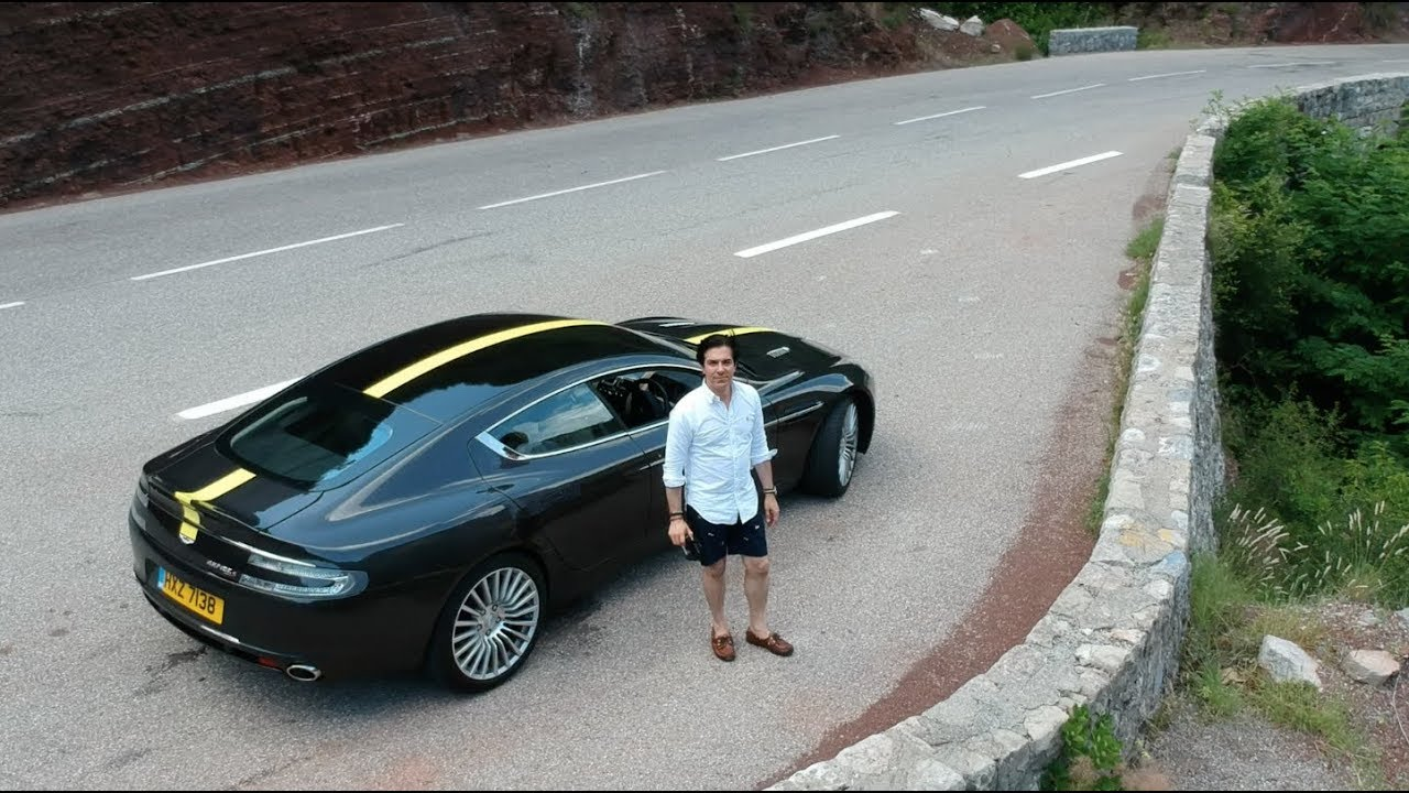 Download Best driving road in Europe in my Aston Martin Rapide S | VLOG 135