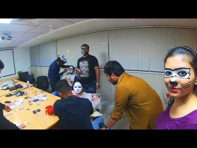 Halloween making video