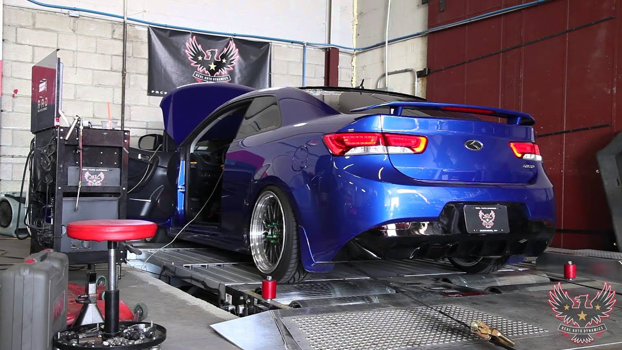 Turbo Kia Forte Koup | Dyno Pulls | Real Auto Dynamics   YouTube