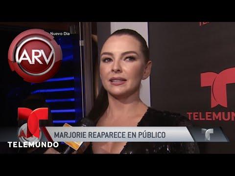 Marjorie de Sousa aparece en evento en Miami | Al Rojo Vivo | Telemundo