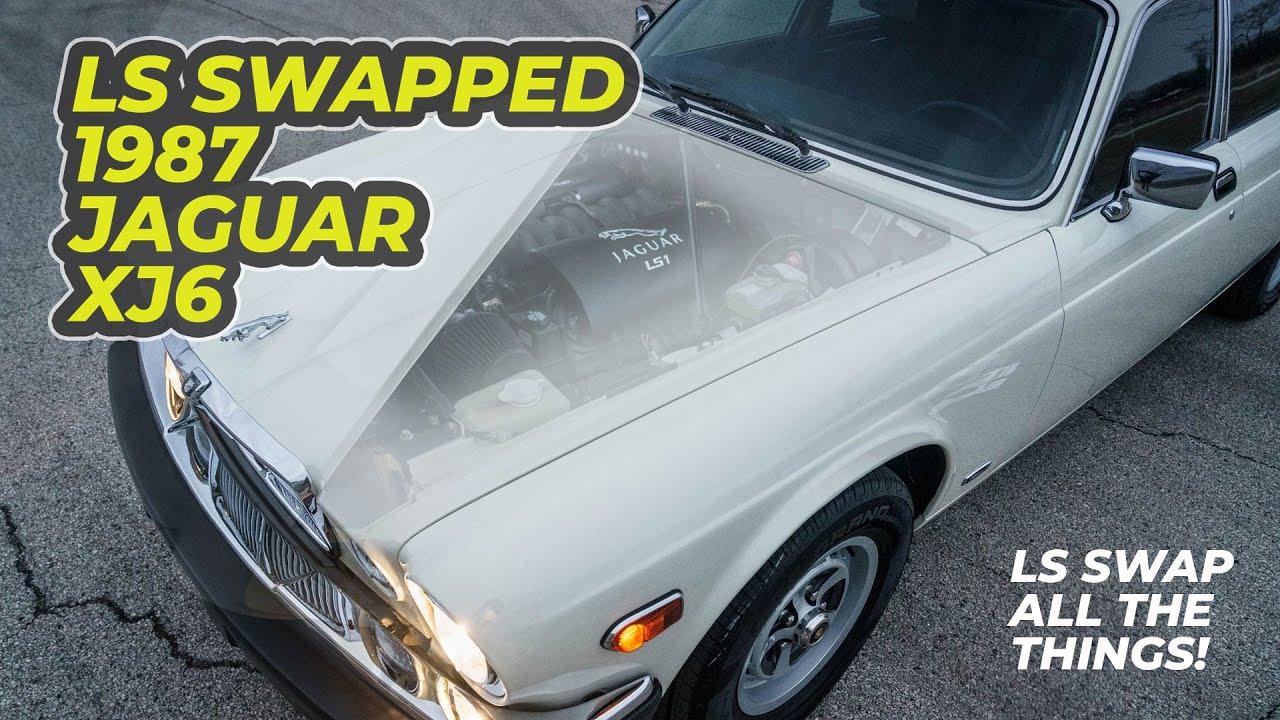 1987 Jaguar Xj6 Ls1 V8 Swapped Full Review Youtube